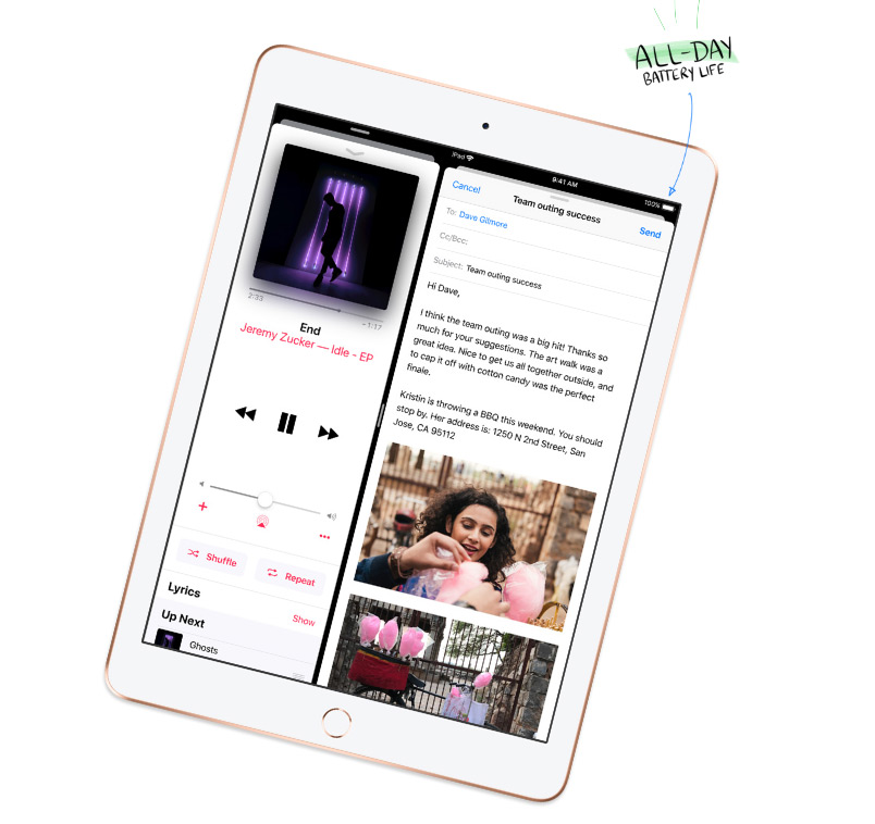 apple ipad 6 gen cellular wi fi 32 gb space grey ipad. Black Bedroom Furniture Sets. Home Design Ideas